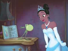 TIANA et son PRINCE NAVEEN (La Princesse et la Grenouille) - Disponible en Blu-ray et DVD - © Disney  #Tiana #Naveen