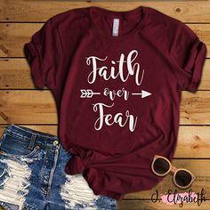 #faith #faithoverfear #funny #funnyshirt #tshirt #tshirtdesign #graphictee #gifts #giftidea #networking #sales #theblondebombshellboutique