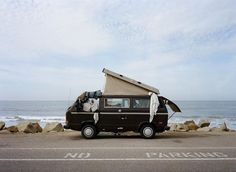 Foster Huntington is the man behind the website & Home Is Where You Park It. His photos will make you want to pack up today and live the van life. Vw Bus, Vw T3 Camper, Camper Van, Vw T3 Westfalia, Vw Minibus, Camping Photography, Mountain Photography, Color Photography, Photography Jobs