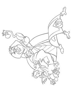 16 coloring pages of Alice in Wonderland on Kids-n-Fun.co.uk. On Kids-n-Fun you will always find the best coloring pages first!