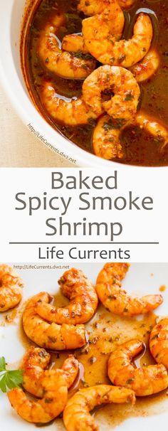 Baked Shrimp in Spic