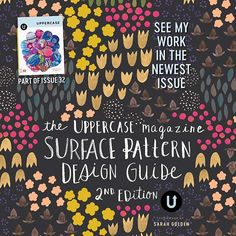 My work will be in the newest issue of Uppercase. Yeeeeey! You can subscribe here http://shop.uppercasemagazine.com/collection/current-issue @uppercasemag @makermaker #wrappingpaper #surfacepatterndesigner #surfacepatterndesign #printandpattern #art #SPDG2017#uppercaselove #stationery #stationerylove #stationeryaddict #artdirectors