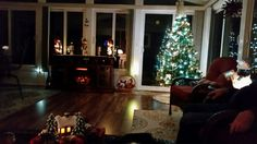 Christmas Sunroom!
