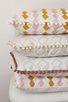 Pattern Cushions by Zana