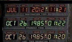 Today is the day MARTY MCFLY arrives in the future