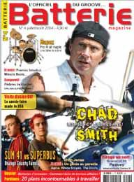 Batterie 4 : Ty Dennis (The Doors)  Stevo 36 / Guillaume (Sum 41 / Superbus)  Etienne (Aqme)  Meg White (The White Stripes)  Chad Smith (Red Hot Chili Peppers)  Franck Agulhon Nick Oshiro (Static-X)  Matthieu Foubert (Camac) Elvin Jones  Chad Smith Boîte à rythmes virtuelle Miracle Beats Kit Mapex Session Custom Face à face pieds de charley DW / Janus / Pearl / Tama Cymbales Istanbul Agop Traditional Caisse claire Premier Modern Classic