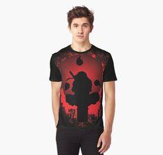 Stronger Inside Graphic T-Shirts #NarutoShippuden #Clothes #Fashion #Apparel #animeshirts #anime #manga #cartoon #itachi #uchiha