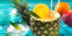 Rezept Ananas-Smoothie in der Ananas