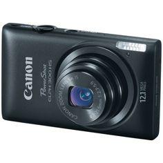 Canon PowerShot ELPH 300 HS 12.1 MP Digital Camera (Black) $150.00