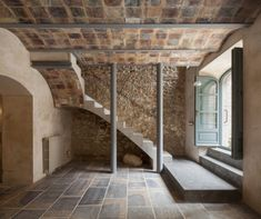 Former fishermans house Casa Friedman by Guim Costa Calsamiglia in Girona Spain