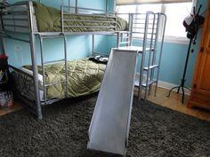 129 Best Bunk Bed Images Bedrooms Bunk Bed With Slide Bunk Beds