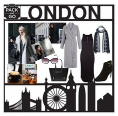 """Pack and Go :London"" by shistyle ❤ liked on Polyvore featuring women's clothing, women, female, woman, misses, juniors and Packandgo"