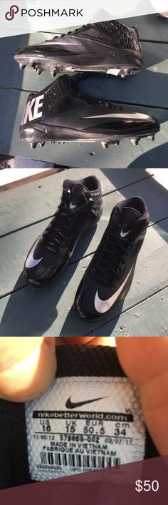 fde22a0dc481 Nike Lunar Code Pro 3 4 Mid Football   LAX Cleats Style  579669-