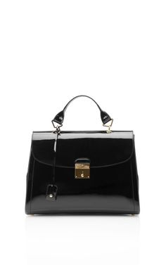 The 1984 Patent Satchel by @Marc Jacobs Intl Now Available on @Moda Operandi
