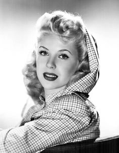 Marie McDonald (July 6, 1923 – October 21, 1965) or the Body as she was nicknamed.