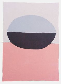 """Egg"" Oil on paper painting by Brooklyn-based artist Kristin Texeira. #UpriseArt"