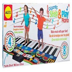 Alex Toys Gigantic Step and Play Piano, Multicolor