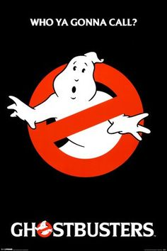 Ghostbusters Movie (Logo) Poster Print 80s - 24 x 36 Poster Print, 24x36