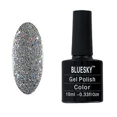 Shop for Bluesky Gel Nail Polish, Silver Explosion Silver Glitter, Uv/led Soak-off Gel Polish, Starting from Choose from the 3 best options & compare live & historic beauty prices. Gel Polish Colors, Gel Nail Polish, Gel Nails, Bluesky Nails, Bluesky Gel Polish, Soak Off Gel, Uv Led, Winter Nails, Silver Glitter