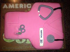 Pink Nurse Gown  Tiersoflove.com