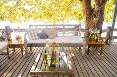 Lounge de casamento rústico - Casamento Anna Carolina & Leonardo