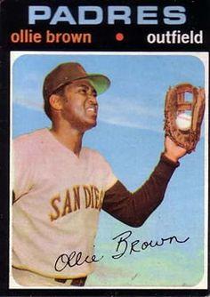 505 - Ollie Brown - San Diego Padres