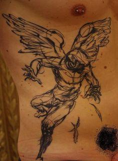 derek hess | eastside-heiko: heiko, eastside tattoo magdeburg | Tattoos von Tattoo