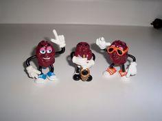California Raisins Trio 1987