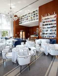 Cipriani recently set up shop at the scenic intersection of the Miami River and Biscayne Bay