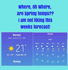 I know we are lucky that we aren't getting snow, but the Cold needs to go away. #Need50degrees, #timeforwarmtemps, #SpringBreakweek