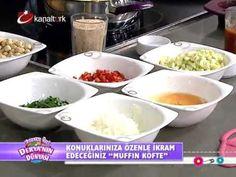 """Şef Sibel Yalçın'dan iftara özel enfes bir menü """"Muffin köfte"""""""