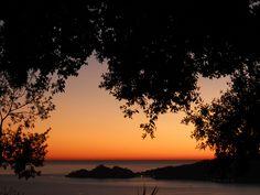 Sunset in sant'ambrogio (zoagli)