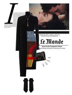 """#132"" by kgarden ❤ liked on Polyvore featuring Valentino, INDIE HAIR, Richmond Denim, Chloé, Tom Ford, Yves Saint Laurent, Rick Owens and Old Navy"
