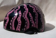 Octopus Tentacles Roller Derby Helmet by emgraphics on Etsy, $50.00