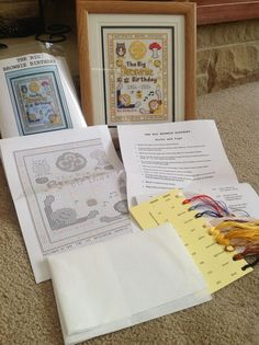 FOR SALE - To raise funds for all the celebrations for The Big Brownie Birthday next year I am selling this cross stitch kit. It contains - pattern, material, needle, threads and key. Contact me if interested.