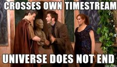 Tenth Doctor meets the Twelfth Doctor and the universe doesn't explode....just Mount Vesuvius.