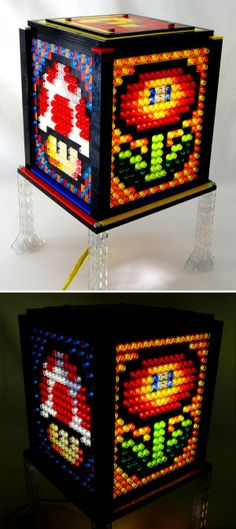Power-Up Your Decor with this Mario-Inspired Lego Lamp