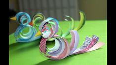 Bird Paper Craft, Paper Birds, Paper Crafts, Spring Crafts, Flower Crafts, Make It Yourself, Flowers, Palmas, Tissue Paper Crafts