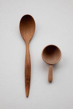 LOVE all my wooden utensils!