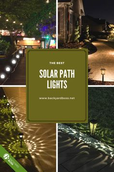 These are our favorite solar lights--no batteries or wires required-- that will provide bright and long-lasting light for your driveway or pathways. Best Solar Path Lights, Solar Powered Lights, Pathway Lighting, Landscape Lighting, Cheap Landscaping Ideas, Out Of The Dark, Product Review, Pathways, Solar Panels