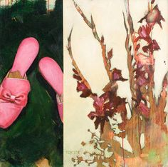 Pink Shoes by Vincent Bakkum