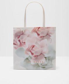 Porcelain Rose large shopper bag