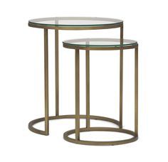 BASSEY NESTING ACCENT TABLE<BR>[available online and in stores]