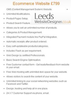 We are a team of professional web designers with 10 years of experience in web development, web design, and project management. This website profiles the work we have performed for existing websites as well as newly designed websites, created to be user-friendly and consistent with search engines like Google and Yahoo.  visit us : http://www.leedswebsitedesigner.co.uk/