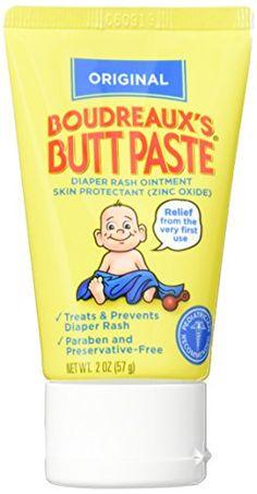 Boudreaux's Butt Paste Diaper Rash Ointment, Original, 2 ouncers