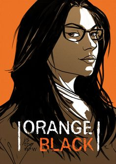 """""""Alex Vause"""" by David Cousens www.CoolSurface.com  New character poster illustration of #AlexVause (@LauraPrepon) from Orange is the new Black. Love this show."""