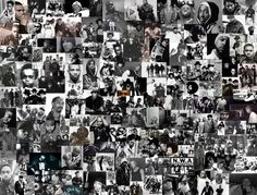 How many of these hip hop artists can you recognize? Can you name them? @HipHopOldSchool
