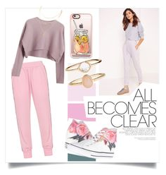 """""""simply"""" by march-d-la-march on Polyvore featuring Missguided, Mother of Pearl, Chicnova Fashion, Casetify, Accessorize and Converse"""