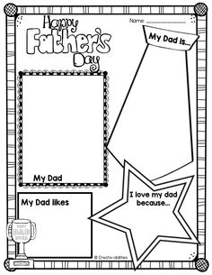 Father's Day activities! Also includes uncle, grandpa, and special guy versions! $