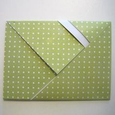 How To Fold Paper Into An Envelope  Cards    Envelopes